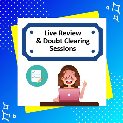 Bonus 4 - Live review & Doubt clearing session